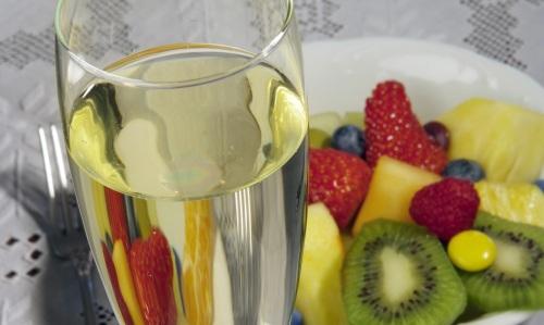 Cava y fruta ed