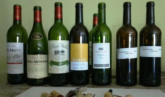Los vinos colmaron las expectativas de los catadores. / JRP