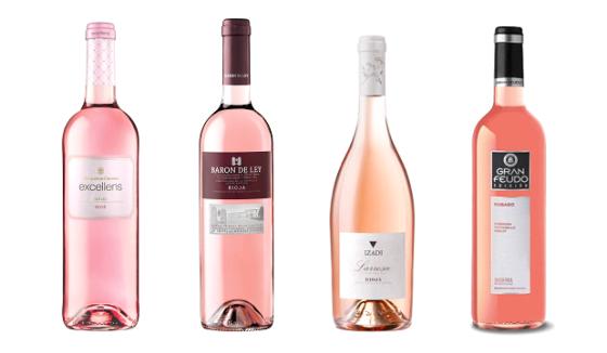 Los nuevos colores del vino rosado. / VA