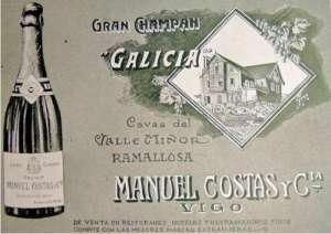 Champan Galicia anuncio