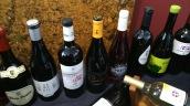 Botellas en la sede del Consejo Regulador.