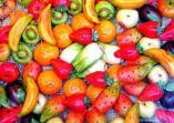 Mazapanes sicilianos imitando frutas y verduras.