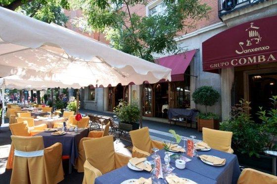 Para las cenas del verano, la terraza es una inmejorable opción. / GS