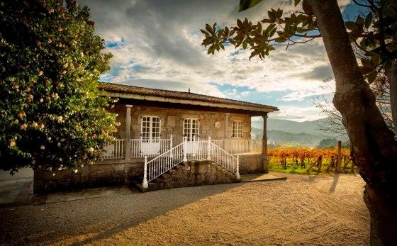 Pazo San Mauro, la propiedad de Marqués de Vargas en el Condado do Tea (Rías Baixas). / MARQUÉS DE VARGAS