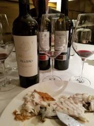 Los vinos durante la comida. / JFC