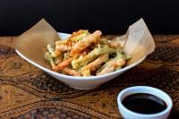 Verduras en tempura. / HH