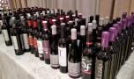 Los vinos que se sirvieron en la gala de entrega de premios. / B